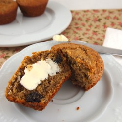 Gluten Free Raisin Bran Muffins | The Baking Beauties
