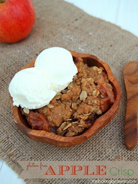 Gluten Free Apple Crisp (Sweet Cravings book review) | The Baking Beauties