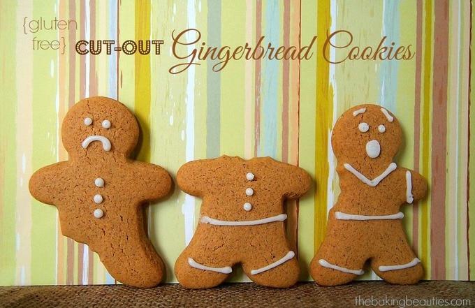 Gluten Free Gingerbread Cookies - The Baking Beauties