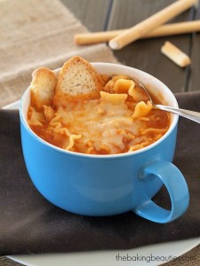 Gluten Free Turkey Lasagna Soup | The Baking Beauties