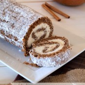 Gluten Free Pumpkin Roll Cake | The Baking Beauties