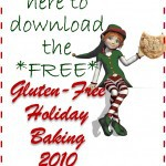 New 2010 Gluten-Free Holiday Baking E-Book – Download it Now!