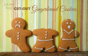 Gluten Free Cut-Out Gingerbread Cookies | The Baking Beauties
