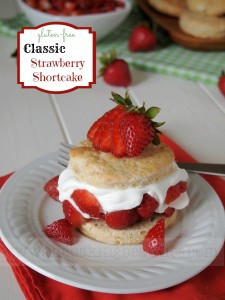 Gluten Free Strawberry Shortcake | The Baking Beauties