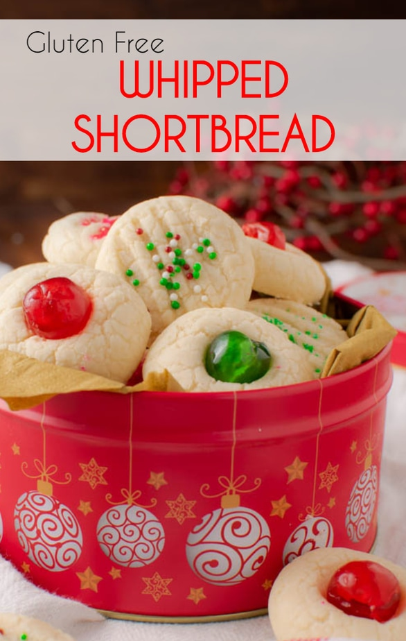 Gluten Free Whipped Shortbread recipe