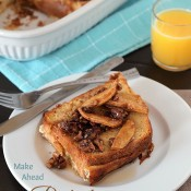 Make Ahead Gluten Free Baked French Toast from The Baking Beauties