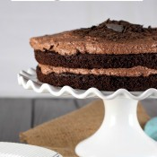 The Ultimate Chocolate Quinoa Cake from The Baking Beauties