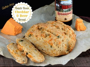 Gluten Free Dutch Oven Cheddar and Beer Bread | The Baking Beauties