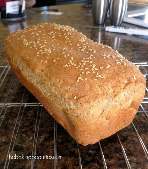 Gluten Free Millet Sandwich Bread | The Baking Beauties