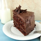 Gluten Free Devil's Food Cake from The Baking Beauties