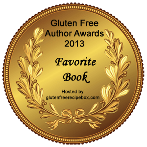 "Gluten Free Author Awards - Favourite Book ""The Everything Guide to Living Gluten Free by Jeanine Friesen"