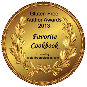 "Gluten Free Author Awards - Favourite Cookbook ""The Everything Guide to Living Gluten Free by Jeanine Friesen"