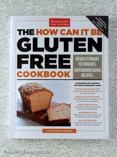 """Review of America's Test Kitchen """"the How Can It Be Gluten Free Cookbook"""""""