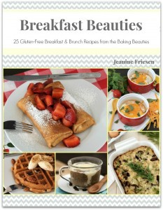 Breakfast Beauties: 25 Gluten Free Breakfast & Brunch Recipes