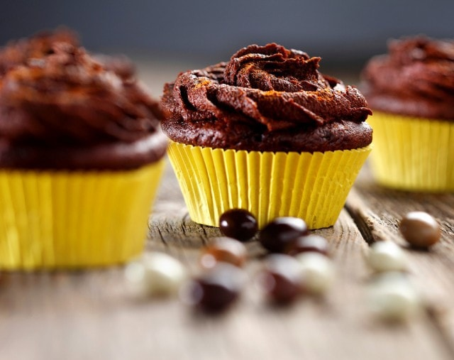 Gluten Free Mexican Hot Chocolate Cupcakes from The Baking Beauties