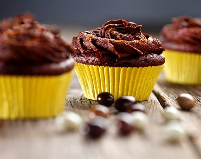 Gluten Free Mexican Hot Chocolate Cupcakes