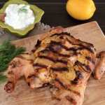 Garlicky Greek Chicken