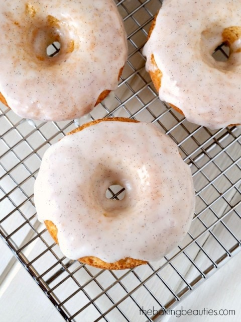 Gluten Free Baked Doughnuts from The Baking Beauties