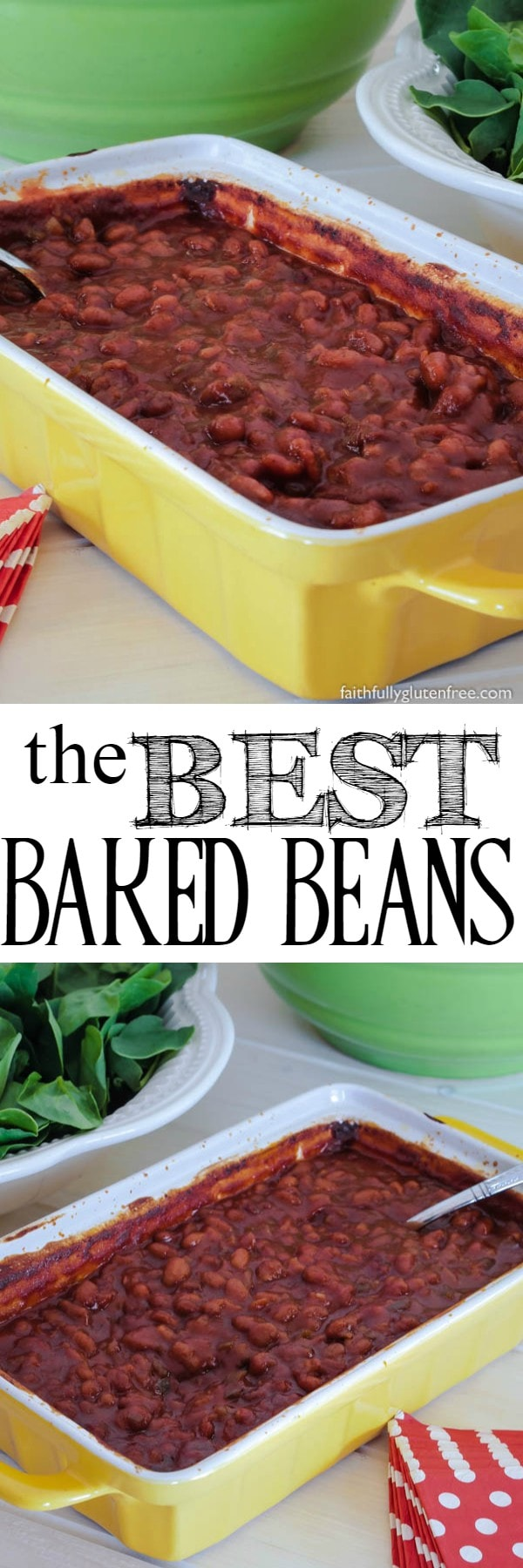 Making the Best Baked Beans is easy when you use store-bought beans as the base, and then jazz them up to customize them.