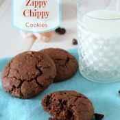 Gluten Free Zippy Chippy cookies from @bakingbeauties