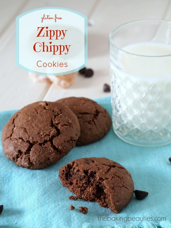 Gluten Free Zippy Chippy Cookies