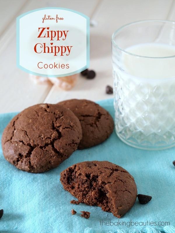 Gluten Free Zippy Chippy cookies from @bakingbeauties