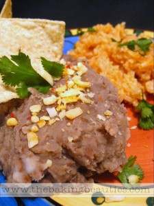 Refried Beans from The Baking Beauties
