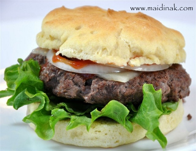 Gluten Free Hamburger Buns from Allergy Free Alaska