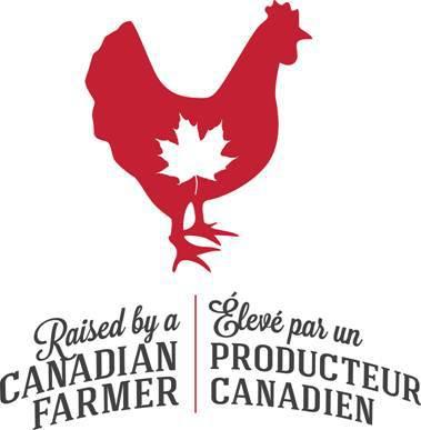 Look for the new #RaisedbyaCNDFarmer Logo