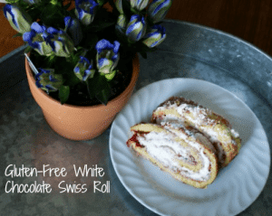 White Chocolate Swiss Roll from A Life That's Good