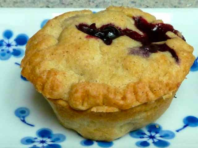 Mini Blueberry Pies from Gluten Free Baking Bear