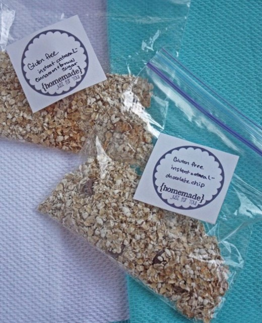 Instant Oatmeal Packets from Rolling Out Dough