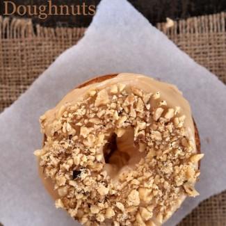 Gluten Free Maple Walnut Doughnuts from The Baking Beauties