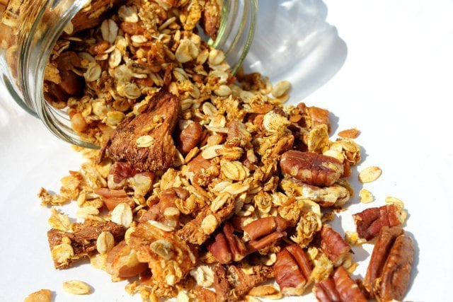 More Than Carrot Cake Granola from Strength and Sunshine