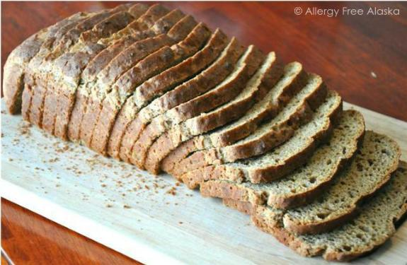 Gluten and Rice Free Multigrain Bread from Allergy Free Alaska