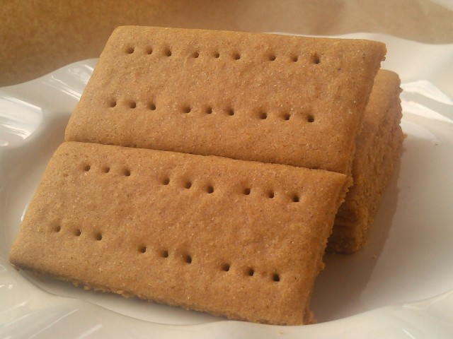 Gluten Free and Vegan Graham Crackers from Fairy Wings and Pixie Dust