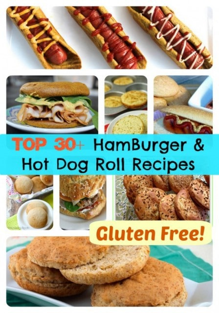Top 30+ Gluten Free Hamburger & Hot Dog Roll Recipes from Gluten Free Easily