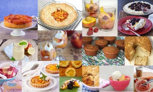 Peach Dessert Recipes from All Gluten Free Desserts
