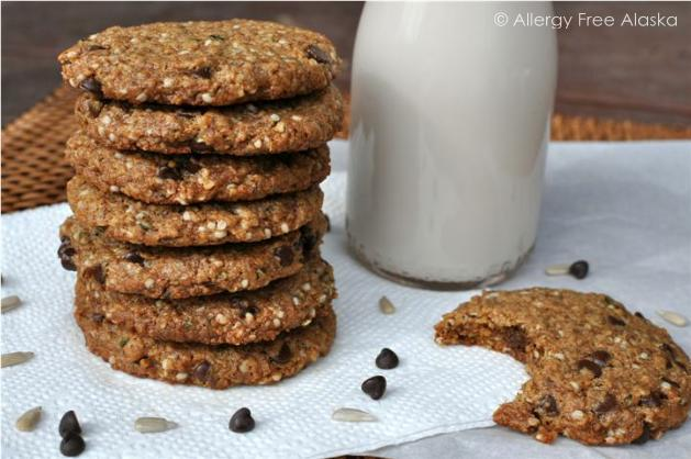 Protein Packed Breakfast Cookies from Allergy Free Alaska