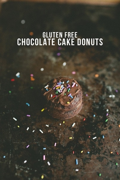 Gluten Free Chocolate Cake Donuts from A Harvest of Blessings