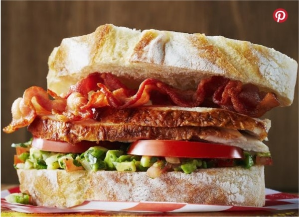 Deluxe California Club Sandwich