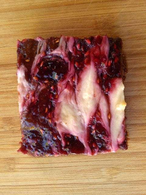 Gluten Free Raspberry Cream Cheese Brownies (Top 8 Allergen Free) from Fairy Wings and Pixie Dust
