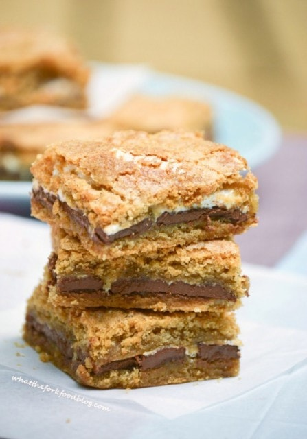 Gluten Free S'mores Bars from What the Fork Food Blog