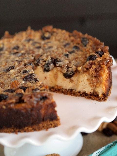 Gluten Free Maple Butter Tart Cheesecake (Cheesecake of the Year 2014 ...
