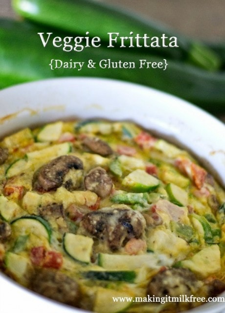 Dairy Free Veggie Frittata from Make It Milk Free