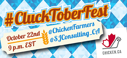 Join us for #CluckToberFest and win great prizes #chickendotca