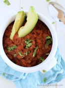 Our Favourite Beef Chili (which just so happens to be Paleo) from The Baking Beauties