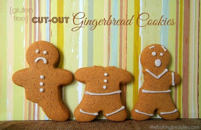 Gluten Free Gingerbread Cookies from The Baking Beauties