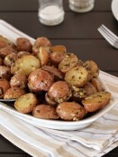Roasted Pesto Potatoes from The Baking Beauties