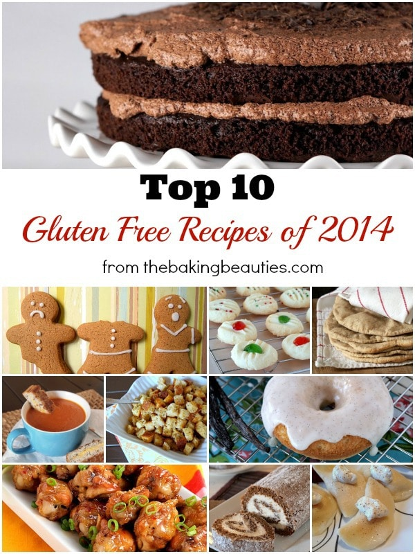 Top 10 Gluten Free Recipes of 2014 from The Baking Beauties